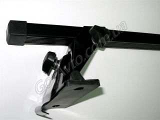 Багажник на ВАЗ 2110, 2112: МАМОНТ тип 010, прямоугольный профиль