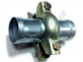 Муфта со сгонами, ремкомплект глушителя (Ø50)